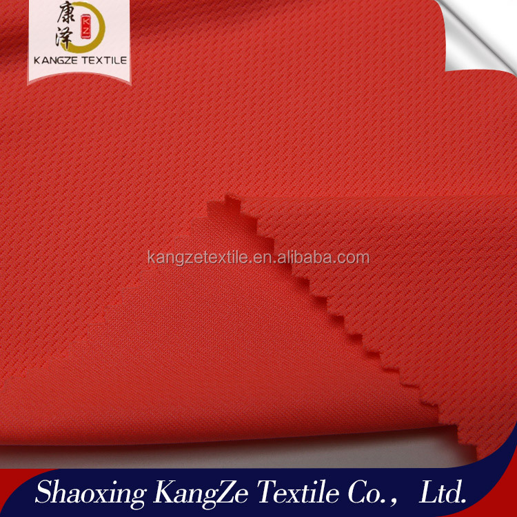 Ke Qiao manufacturer sports dry fit fabric bird eye mesh fabric