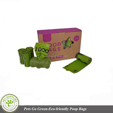 Eco-friendly 16Rolls Custom Dog Poop Scooper with Waste Bag --240Bags Total