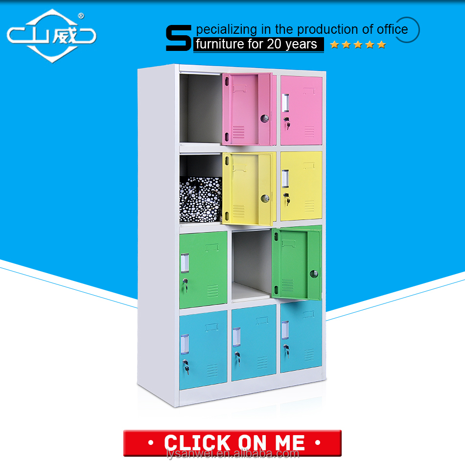 SANWEI 12-door colorful cabinet storage <strong>for</strong> <strong>sale</strong>
