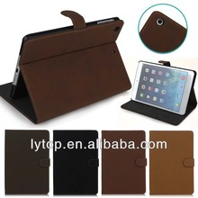 New trend retro style pu leahter case for ipad mini 2