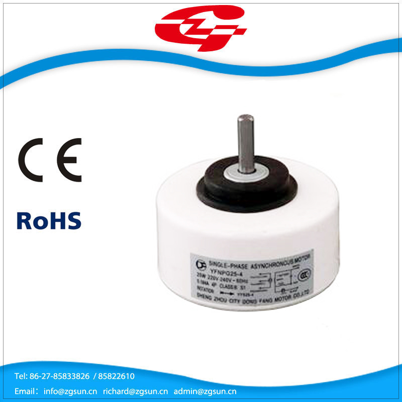 indoor air conditioner capacitor motor with plastic body 20W 220V Single-phase asynchronous motor