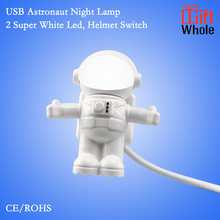 Customize logo USB astronaut night light led light gift gadget