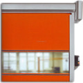 rolling balcony door