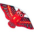 cartoon owl children kite