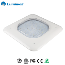 IP65 surface mounted pendant mounted DLC ETL shock resistant durable cover LED canopy light