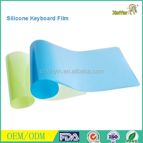 silicone laptop keyboard cover/silicon keyboard skin cover