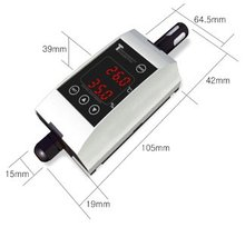 Temp & humidity Transmitter with communication and display