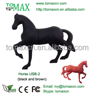 Christmas Gift Market Best Ideas horse shape usb flash memory drive