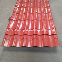 wholesale corrugated metal roofing sheet with low price