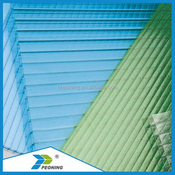 4mm-16mm Honeycomb Polycarbonate Sheet Building Material