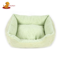 High Quality Custom Fashion Non-Slip Suede And Lamb Velvet Pet Rest Bed