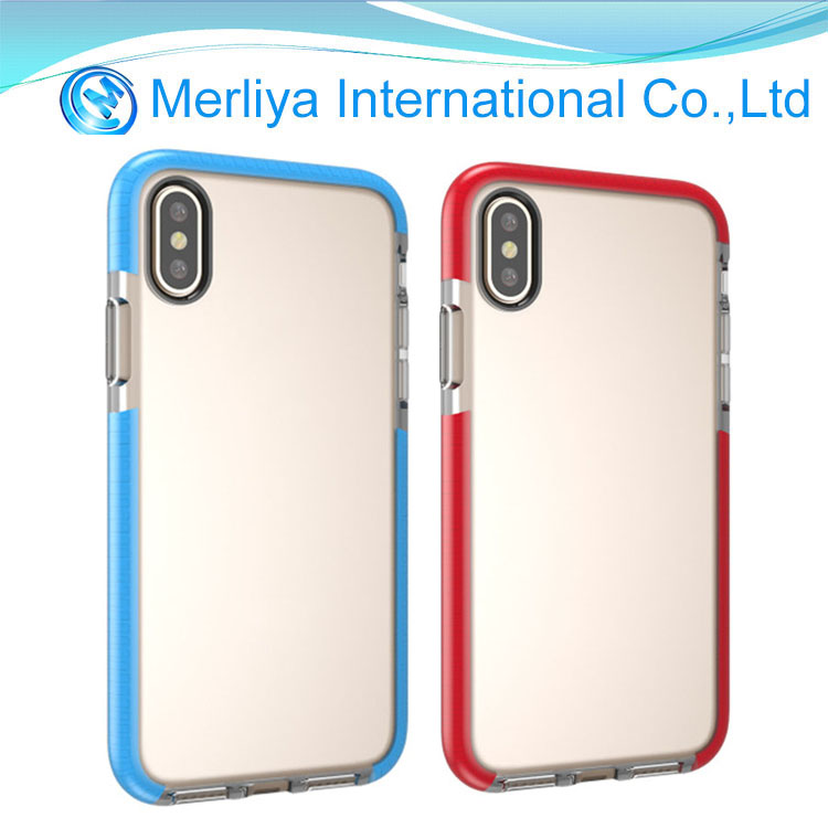 Soft Silicone Transparent Cover Case TPU Thin For iPhone X