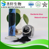 Natural food colorant Gardenia blue with herbal extract