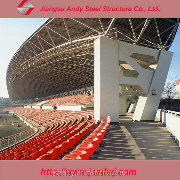 Light weight steel galvanized corrugated metal roof truss design