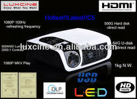 New year Promotion!!! C5 led projector short led projectors china made