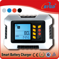 High frequency charger for rechargeable batteries with dual usb 2.1A