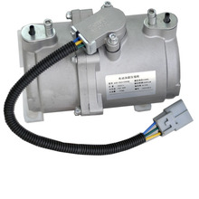 Car part of electric bus air conditioner compressor