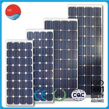 New Power CCC ISO9001Approved 120W Mono Cheapest Solar Panel