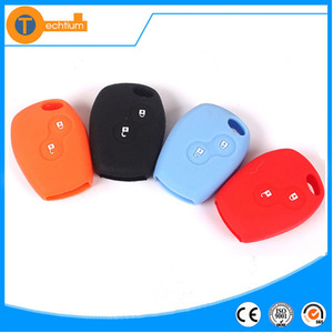 Silicone 2 buttons Key Caps For Renault Silicone Key Cover