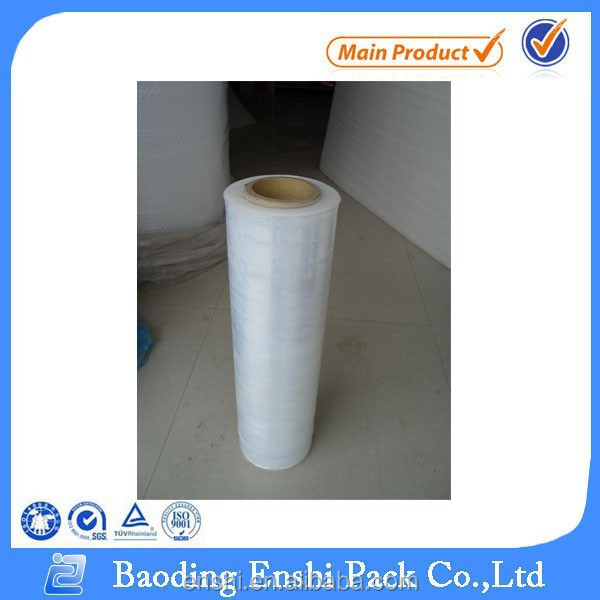 Customized transparent pvc stretch film for food wrap