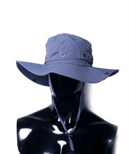 New design workable price blue large rims bush hat hunting hat bucket hat