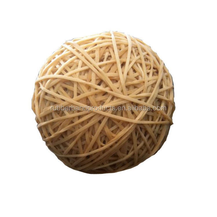 Natural Rubber Ring Hollow Rubber Band Ball
