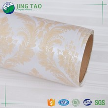 Durable high gloss pvc wallpaper film