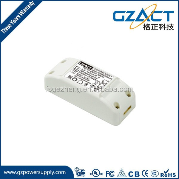 350ma 4w 5w 6w AC-DC constant current led driver