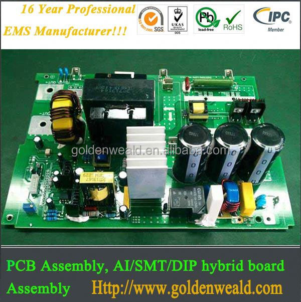 electronic PCBA board from Golden Weald Manufactory automotive pcba