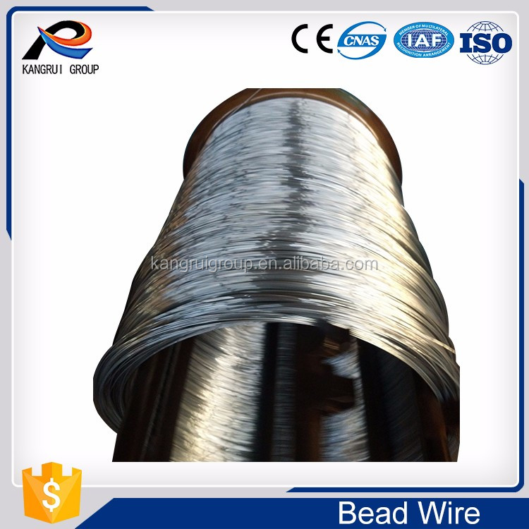 Tire/tyre skeleton reinforcement bead wire with coating