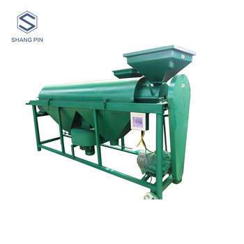 India mildew cassia seed cleaning grain polishing machine from Shangpin