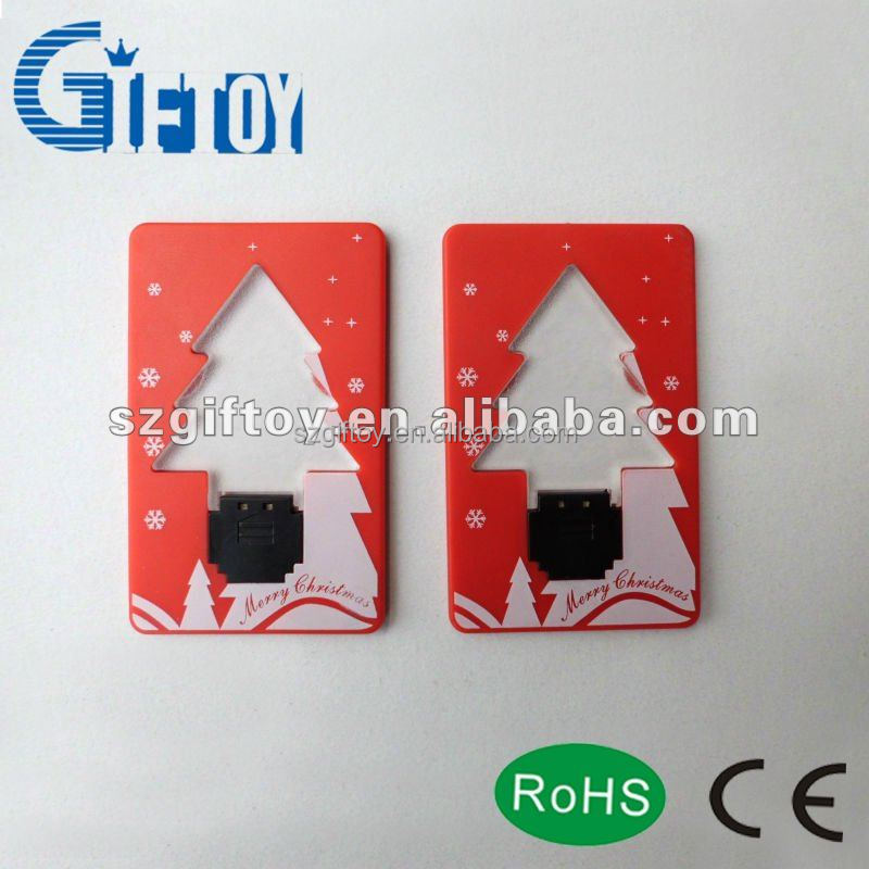 flash card Supply creative fashion Christmas Flashing Module Gift Cards
