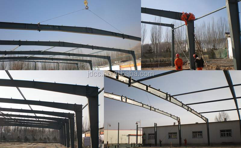 Low Cost and Fast Assembling Prefabricated Steel Structure Warehouse