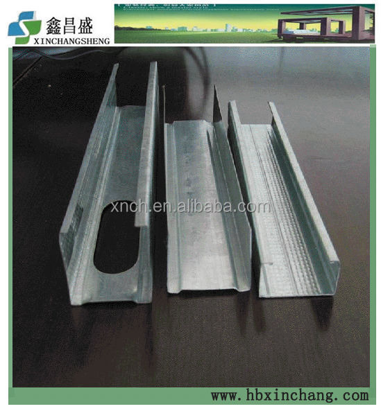 Galvanized Steel C stud & U track/Metal Channel