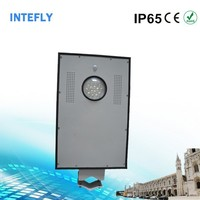 Intefly high power newest design 25W led street light auto on at dusk & auto off at dawn