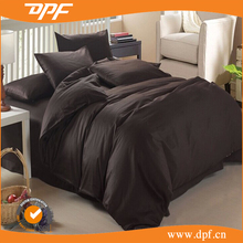Hotel standard black color bedding sets for super king size bed comforter