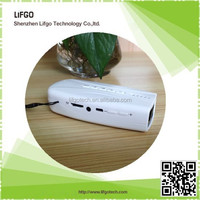 5200mAh dual USB power bank with FM Radio, TF card music box