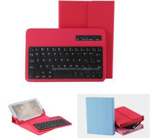 "Universal 7"" 8"" inch Android Tablet Leather Case Cover With Removable Bluetooth Keyboard"