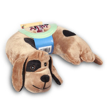 Soft Kid's Travel Neck Pillow Pet Shaped Plush Toy