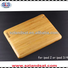 Hot factory direct sales bamboo case for ipad 2&3&4 IBC09