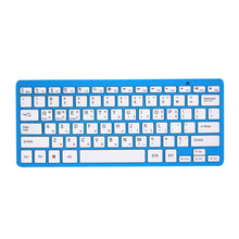 Plastic portable wireless bluetooth keyboard for samsung galaxy s5