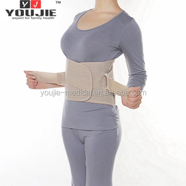 China manufacturer excellent material super thin lower back lumbar support belt waist brace