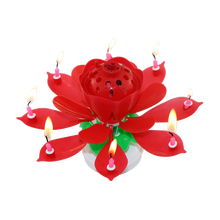 Musical Lotus Firework Birthday Candle Wholesale