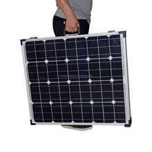 High efficiency 100W foldable sun panel for DC12V solar system kits