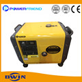 AC small portable generators 7kva single cylinder generator super silent