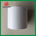 two column direct thermal paper roll heat transfer sticker
