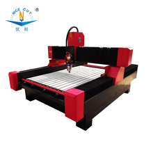 NC-M1530 two heads stone engraving 3d carving machine for marble granite