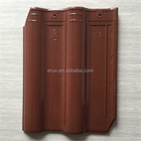 China hot sale transparent roof tile glazed construction materials