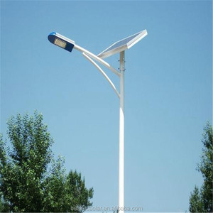 Solar Street Light Lithium Iron Phosphate Battery With Pole Design