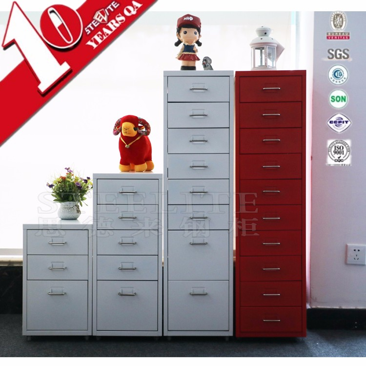 new design 5 drawer samll filing cabinet with safe inside for school furniture